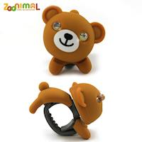 【ZOONIMAL】STORY 動物自行車燈用LED白光前燈-Kuma酷馬熊/棕熊