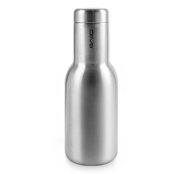 Driver時尚冷熱兩用保溫瓶380ml-原鋼色