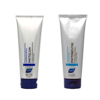 PHYTO 髮朵 精油潔淨/髮絲能量 洗髮精125ml