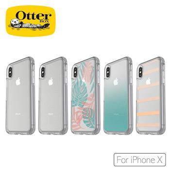 OtterBox iPhone X炫彩幾何透明保護殼