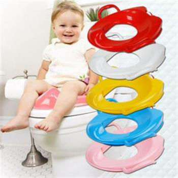 【inBOUND】兒童學習馬桶圈輔助坐便器(3色任選)