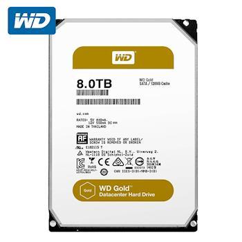 WD 威騰 WD8003FRYZ Gold 8TB 3.5吋企業級硬碟