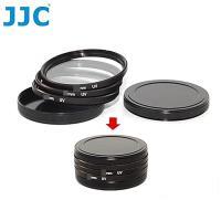JJC濾鏡收納盒SC-77II(金屬製)適77mm濾鏡盒77mm保護鏡盒MCUV濾鏡保護盒MC-UV濾鏡儲存盒濾鏡保存盒