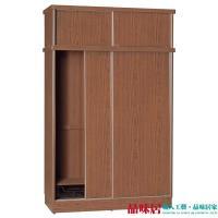 【品味居】羅比 時尚6尺四門衣櫃/收納櫃(五色可選+吊衣桿+收納鐵籃)