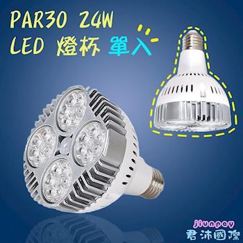 PAR30 LED 投射燈 24W 珠寶燈 聚光燈 LED燈杯 E27燈座 (白光/暖白光) 單入 展示燈專用