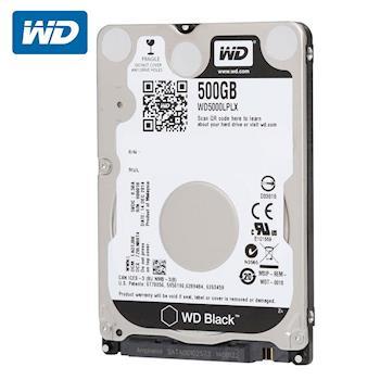 WD 威騰 WD5000LPLX 黑標 500GB(7mm) 2.5吋硬碟
