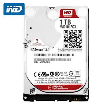 WD 威騰 WD10JFCX 紅標 1TB 2.5吋NAS專用硬碟