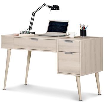 【MY傢俬】現代設計白雪杉色4尺書桌