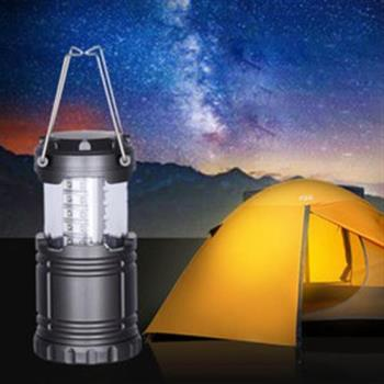 【OUTBOUND】便利可攜式LED露營燈/照明燈/帳篷燈 (#送3號電池*3)