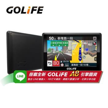 GOLiFE GoPad 5S 多功能智慧Wi-Fi 5吋聲控導航平板機