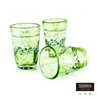 仙德曼SADOMAIN 綠色彩玻窄口握杯5入組