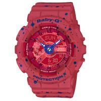 【CASIO】BABY-G 星空閃耀運動錶-紅 (BA-110ST-4A)
