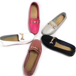 【Moscova】手工真皮。金屬雙T字休閒鞋