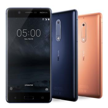 Nokia 5 八核心5.2吋雙卡金屬智慧機*送保貼+USB隨行燈*