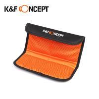 KF Concept 單眼相機折疊式隨身收納包-4片裝濾鏡包
