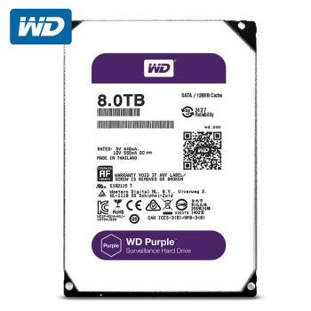 WD 威騰 WD80PURZ 紫標 8TB 3.5吋監控系統硬碟