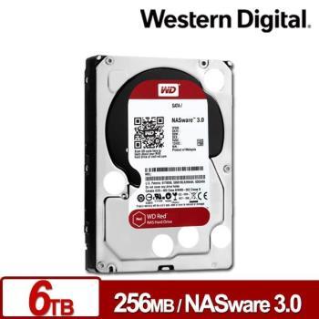 WD 威騰 WD60EFRX 紅標 6TB 3.5吋NAS硬碟(NASware3.0)