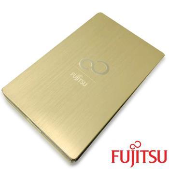 Fujitsu Ultra Slim 1TB 2.5吋金屬髮絲紋行動硬碟 香檳金