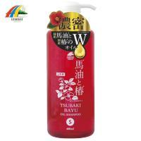 TSUBAKI思波綺 保濕洗髮精(馬油+茶油) 600ml
