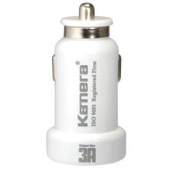 Kamera 3A USB車充頭 CP-18 (白)