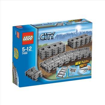 【 樂高積木 LEGO 】《 LT7499 》CITY 城市系列 - 靈活軌道