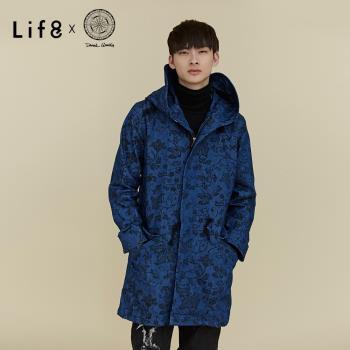 Life8 x Daniel Wong。圖騰牛仔派克風衣 NO. 03664