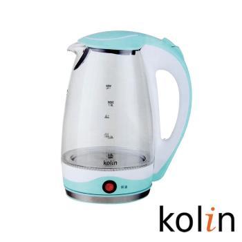 KoLin 歌林1.8公升保溫玻璃快煮壺 KPK-KYR1805G