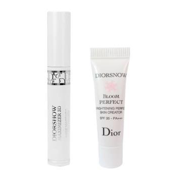 Christian Dior 迪奧 搶眼3D睫毛增量底膏精巧版1.5ml贈光感柔膚萃3ml