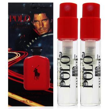 RALPH LAUREN POLO 紅色馬球男性淡香水 針管1.5ml x2入