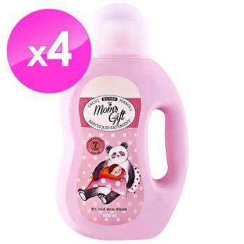 【Moms Gift】7無 嬰幼兒洗衣精1000mlX4件組
