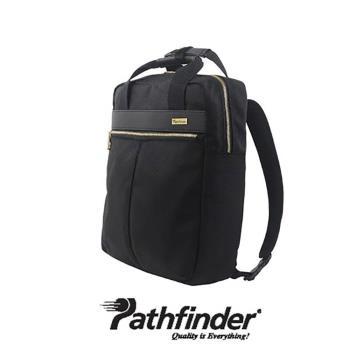 日本 Pathfinder 手提/後背 2-way 白領功能包 【騎士黑】
