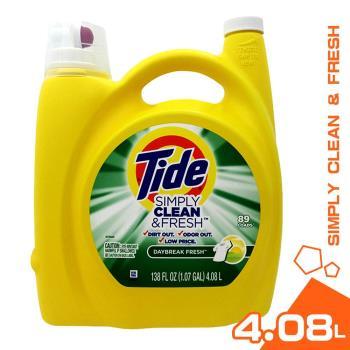 美國 Tide 汰漬 濃縮洗衣精 清新柑橘 4.08L*1入