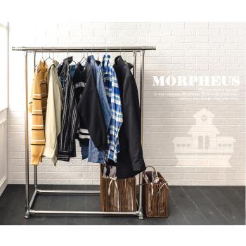 莫菲思 超耐重不鏽鋼雙桿伸縮曬衣架