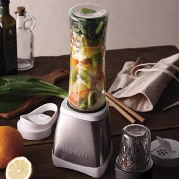 日本Vitantonio 二合一隨行杯蔬果機/研磨機 VBL-300B