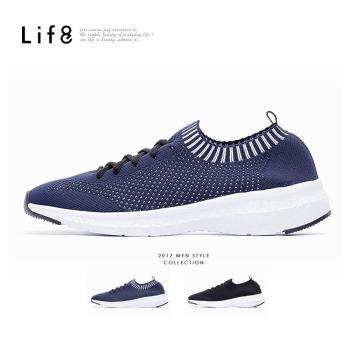 Life8-Sport 輕量 飛織一體成型 漂浮運動鞋 NO. 09713