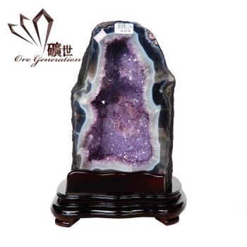 【礦世】頂級巴西紫晶洞 16.20kg
