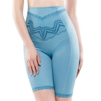 【思薇爾】挺享塑系列64-88中機能高腰長筒束褲(北極藍)