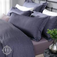 HOYA H Series繁星夜曲 特大四件式300織長纖細棉被套床包組-配6x7被