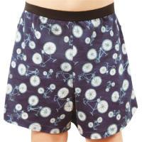 任-【SOLIS】鐵馬之旅系列120-150印花四角男童褲(靛藍色)