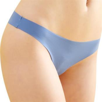 任-【思薇爾】全素面FREE SIZE糖果低腰性感丁字褲(水晶藍)