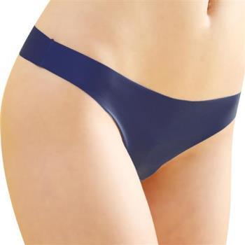 【思薇爾】全素面FREE SIZE糖果低腰性感丁字褲(海灣藍)