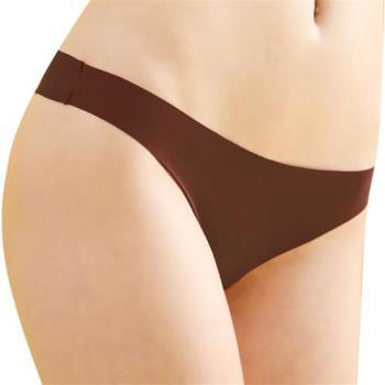 【思薇爾】全素面FREE SIZE糖果低腰性感丁字褲(粟褐色)