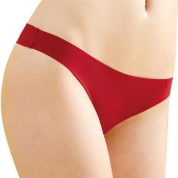 【思薇爾】全素面FREE SIZE糖果低腰性感丁字褲(棗紅色)