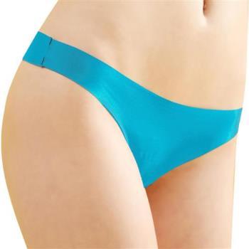 【思薇爾】全素面FREE SIZE糖果低腰性感丁字褲(天使藍)