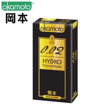 【okamoto岡本OK】保險套 002 Hydro水感勁薄 6片裝