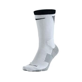 NIKE 男女足球襪-長襪 襪子 白黑