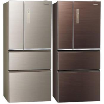 Panasonic國際牌610L四門變頻nanoeX電冰箱NR-D619NHGS-N/NR-D619NHGS-T
