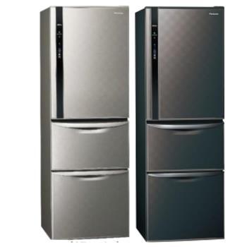 Panasonic國際牌385L三門變頻電冰箱NR-C389HV-S/NR-C389HV-K