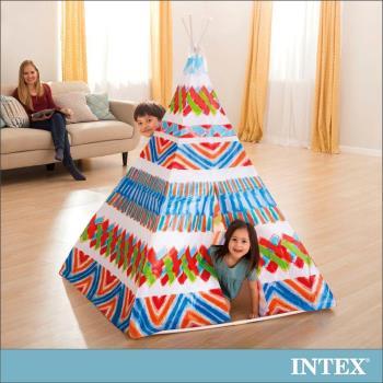 【INTEX】兒童印地安錐形遊戲帳篷(48629)