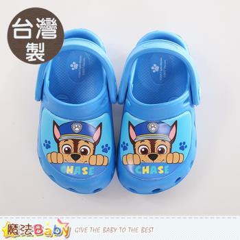 魔法Baby 童鞋 台灣製汪汪隊立大功正版輕量水陸鞋~sk0238